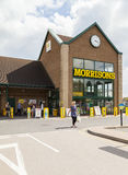 Morrisons supermarket Royalty Free Stock Photo
