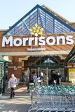 Morrisons-Supermarkt London lizenzfreie stockbilder