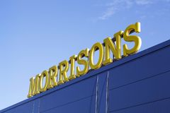 Morrisons-Superstore Stockfotos