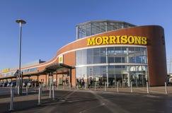 Morrisons-Superstore Lizenzfreie Stockfotografie