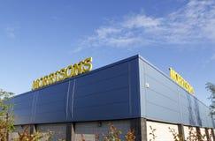 Morrisons-Superstore Stockbild