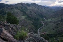 Morrisonweg - Colorado Royalty-vrije Stock Foto's