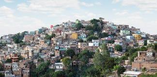 Morro在贝洛奥里藏特,米纳斯吉拉斯州,巴西做Papagaio 免版税库存图片