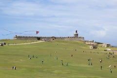 morro Πουέρτο Ρίκο οχυρών EL Στοκ Εικόνα