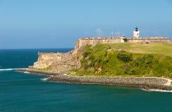 morro Πουέρτο Ρίκο EL κάστρων Στοκ φωτογραφία με δικαίωμα ελεύθερης χρήσης