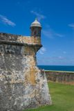morro Пуерто Рико форта el Стоковое Фото