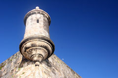 morro старый san juan форта el Стоковое Фото