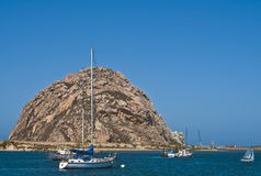 Morro Bay, Central Coast California Royalty Free Stock Images
