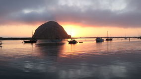 Morro Bay Dusk stock video