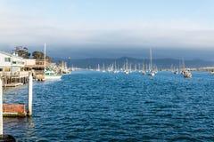 Morro Bay Harbor Royalty Free Stock Photos