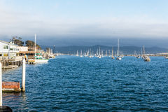 Morro bay harbor Royalty Free Stock Photos