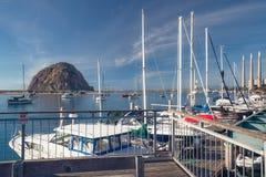 Morro Bay Harbor, California royalty free stock photography