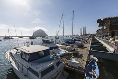 Morro Bay Harbor Royalty Free Stock Photography