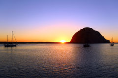 Morro bay Royalty Free Stock Images