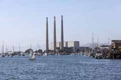 Morro Bay Power Plant Stock Images