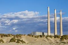 Morro Bay Power Plant Stock Photography