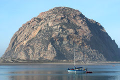 Morro Bay Rock Stock Image