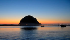 Morro Bay Sunset Stock Photos