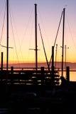 Morro Bay Sunset Stock Photography
