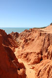Morro Branco, Brazil Stock Photos