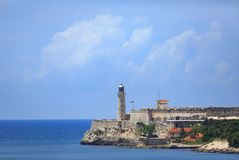 Morro Castle in Cuba Royalty Free Stock Images