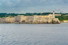 Morro Castle - fortress Royalty Free Stock Images