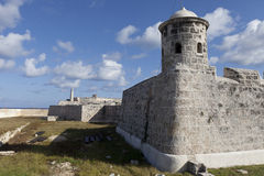 Morro Castle, Havana. Closer view of Morro Castle, Havana Stock Images