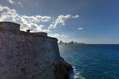 Morro Castle - Havana, Cuba. Morro Castle or Castillo De Los Tres Reyes Del Morro in Havana, Cuba Royalty Free Stock Photography