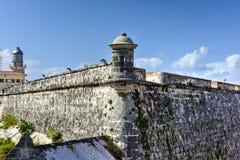 Morro Castle - Havana, Cuba. Morro Castle or Castillo De Los Tres Reyes Del Morro in Havana, Cuba Royalty Free Stock Images