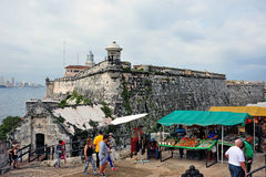 Morro Castle in Havana Stock Image