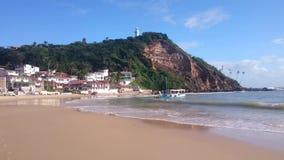 Morro de圣保罗海滩 股票录像