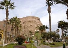 Morro de阿里卡,智利 免版税库存照片
