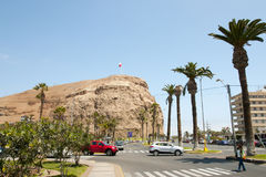 Morro de Arica - Χιλή Στοκ Φωτογραφία