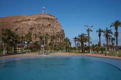 Morro de Arica Στοκ φωτογραφίες με δικαίωμα ελεύθερης χρήσης