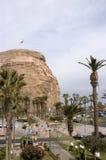 Morro de Arica, Chile Arkivbilder