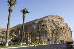The Morro de Arica, Chile Royalty Free Stock Photo