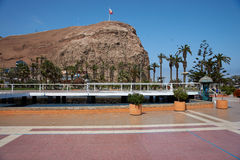 Morro de Arica Royalty Free Stock Images