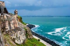 Morro del EL, Puerto Rico imagen de archivo libre de regalías