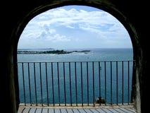 Morro do mar Imagem de Stock Royalty Free