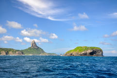 Morro do Pico, fernando de Noronha, Pernambuco (Brazil) Royalty Free Stock Photography