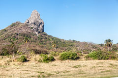 Morro do Pico Fernando de Noronha Royalty Free Stock Image
