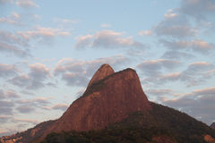 Morro-dois Irmaos - Rio de Janeiro, Brasilien Stockfotos