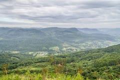 Morro fa il paesaggio della montagna del gaucho fotografie stock libere da diritti