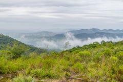 Morro fa il paesaggio della montagna del gaucho immagini stock