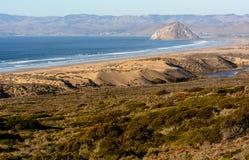 Morro-Felsen an Morro-Bucht stockfoto