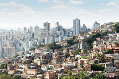Morro font Papagaio à Belo Horizonte Images libres de droits