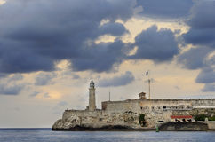 Morro fortress in Havana Bay Stock Photo
