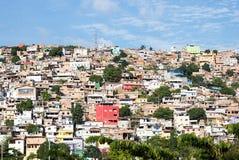 Morro gör Papagaio på Belo Horizonte Arkivfoton