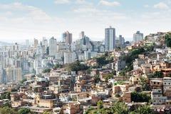 Morro gör Papagaio på Belo Horizonte Royaltyfria Bilder