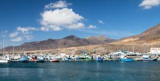 Morro Jable在费埃特文图拉岛,西班牙 免版税库存照片